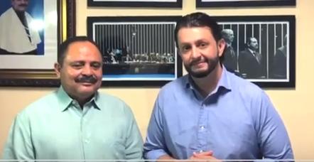 Waldir Maranhão confirma presença na pré-candidatura de Leonardo Sá a prefeito de Pinheiro